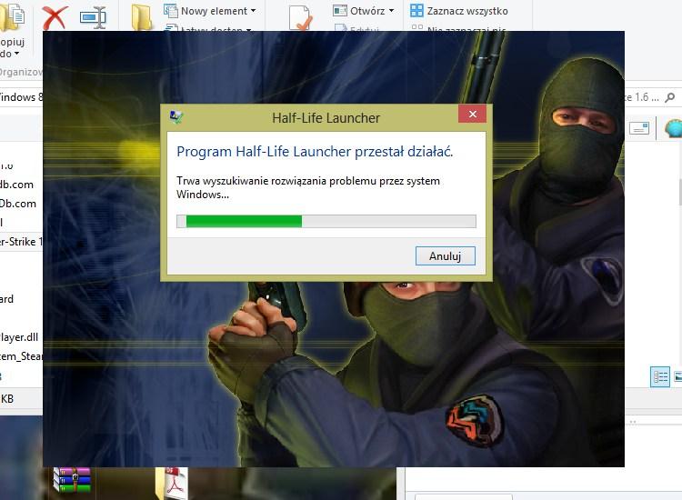 Program Half-Life Launcher przestał działać
